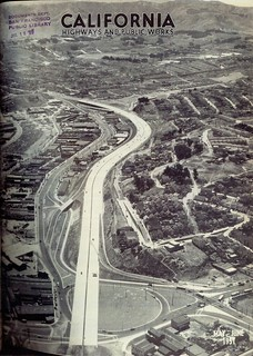 Army Street Circle interchange with US 101 (1951)