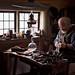 The cobbler in Skansen by Salvatore Falcone