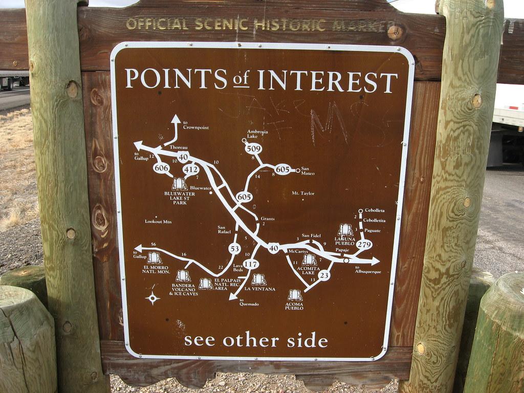 Points Of Interest Near Laguna Pueblo New Mexico Laguna I Flickr