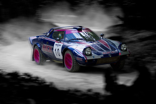 Lancia Stratos - Photoshop practise