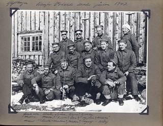 Falstadfanger påsken 1942 / Falstad prisoners at Easter 1942