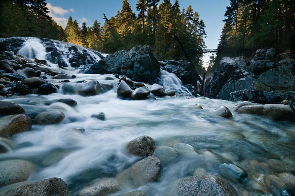 Upper Englishman River Falls