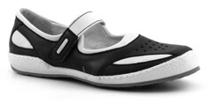 athletic shoe(0.0), walking shoe(1.0), outdoor shoe(1.0), footwear(1.0), white(1.0), shoe(1.0), leather(1.0), grey(1.0), black(1.0),