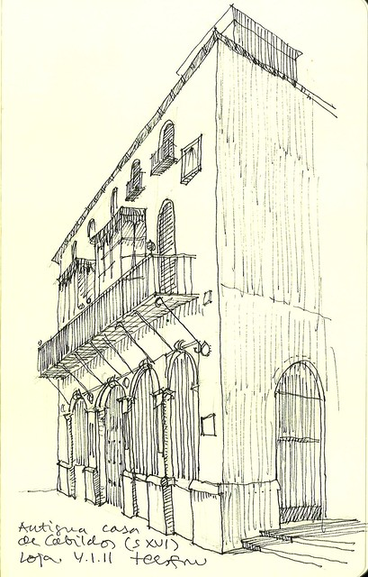 Antigua casa de Cavildos. Loja (Granada)