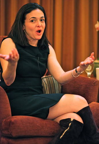 Sheryl Sandberg, COO of Facebook by jurvetson