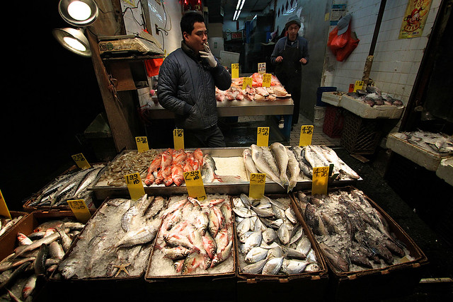 Chinatown fish market nyc flickr photo sharing for Fish market nyc
