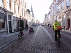 Riding through Utrecht
