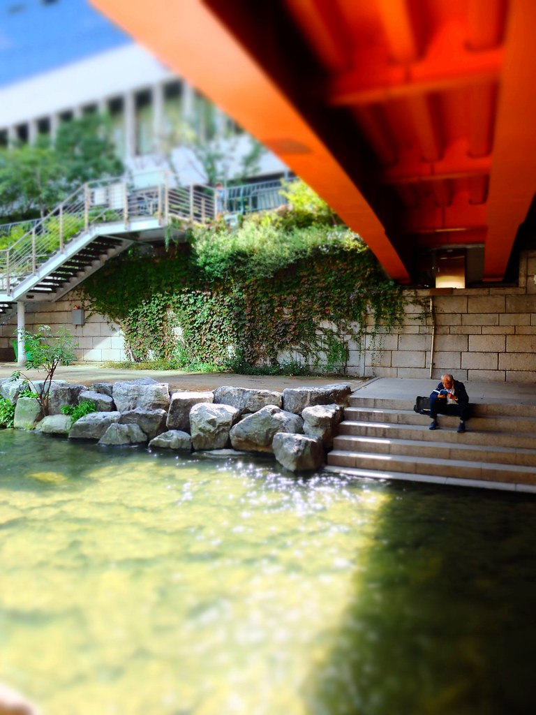 cheongyecheon stream