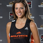 Dina Mueller, WolfPack Cross Country Running