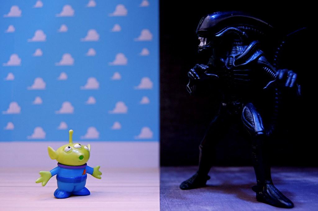 Alien vs. Alien (333/365)
