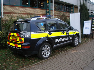 Medroc Mitsubushi Response Vehicle