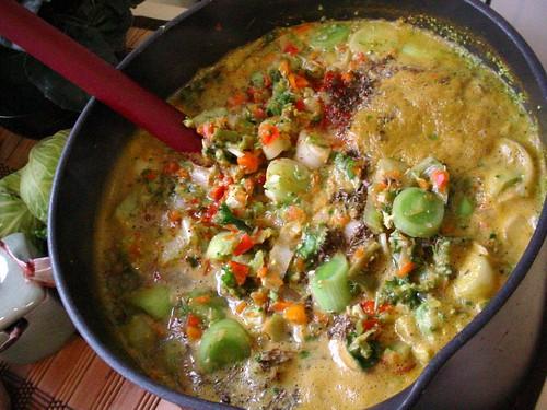 Veggies for Yemenite Hawaig Soup