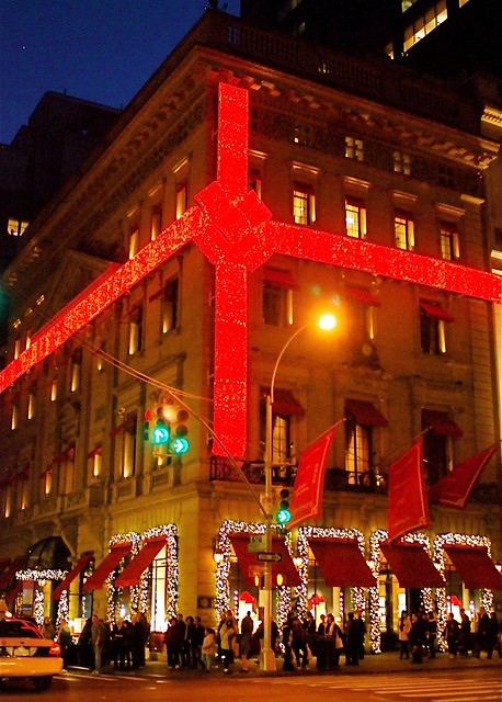 Cartier Storefront Holiday Decoration on Fifth Avenue, New York City  Flickr...