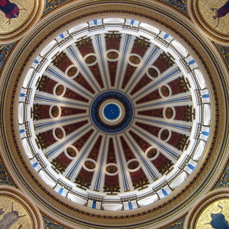 Inside the Pennsylvania State Capitol Rotunda by Elizabeth Thomsen