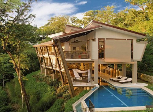 New inspiration: A Massive Vacation Home in the Jungles of Costa Rica