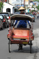 rickshaw, automobile, vehicle, mode of transport, land vehicle,