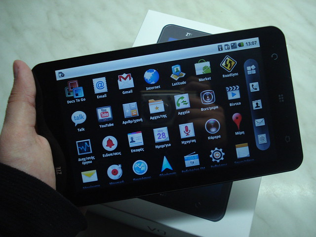 tablet zte v9 pad now realize