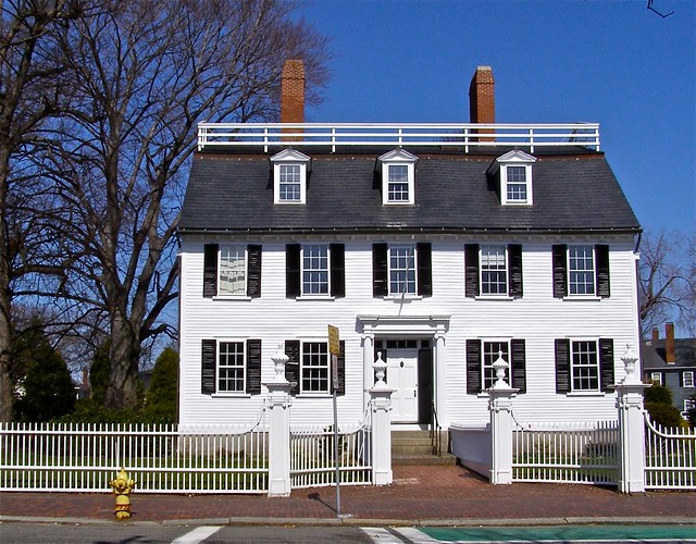 Ropes mansion salem ma one of the great old houses in for Old style homes built new