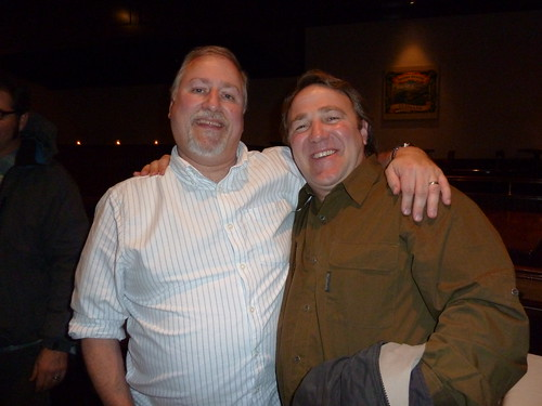 Me and Terence Sullivan, Beer Camp coordinator, assistant brewer & field educator