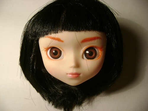 The face of a Fake Pullip