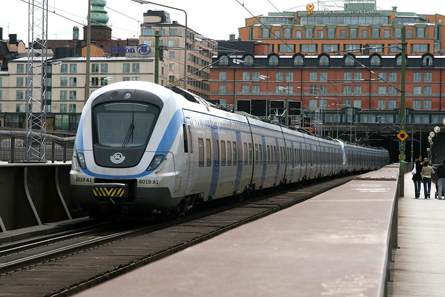 SL X60 6019, Stockholm