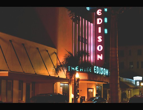 The Edison Theatre!