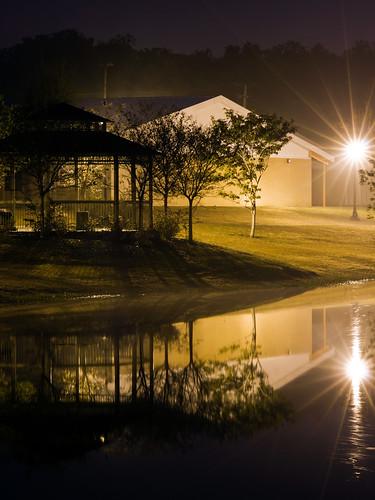 usa reflection silhouette canon landscape florida gazebo bartow canoneosrebelt1i canonef100mmf28lmacroisusm