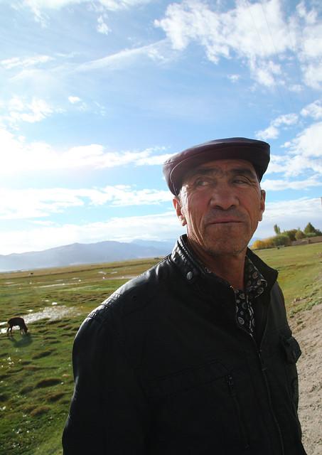 タシュクルガン、タジク族のおじさん