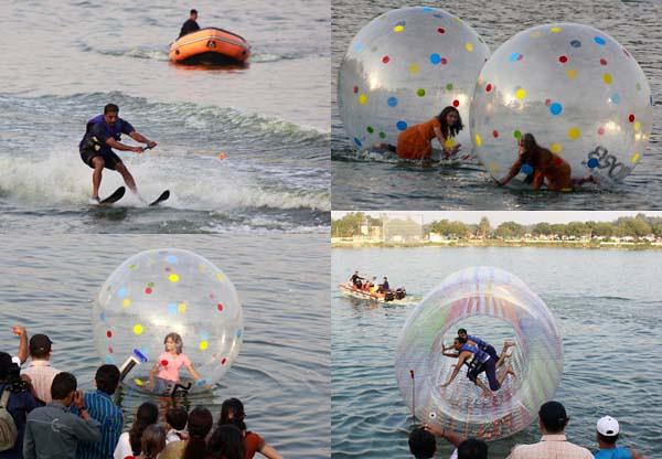 Album:New water rides in Kankaria lake for Kankaria Carnival | DeshGujarat
