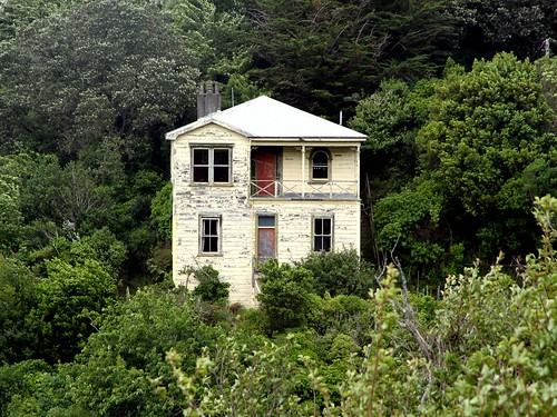 Old house, Mitchelltown, Wellington, Wellington, New Zealand.