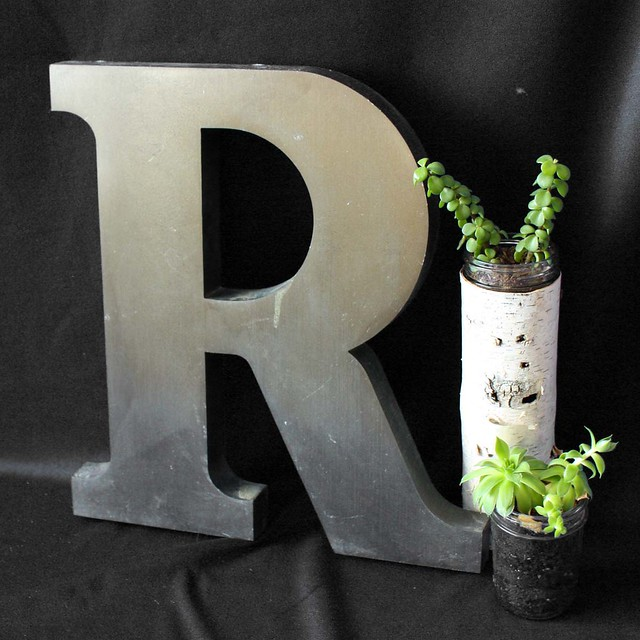 Letter R Large 4 This Is A Vintage Letter Quot R Quot Fr