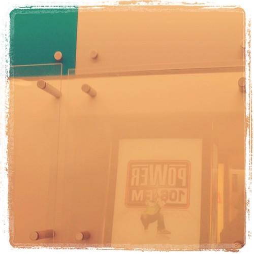 Power 105.9 fm Radio Station walls