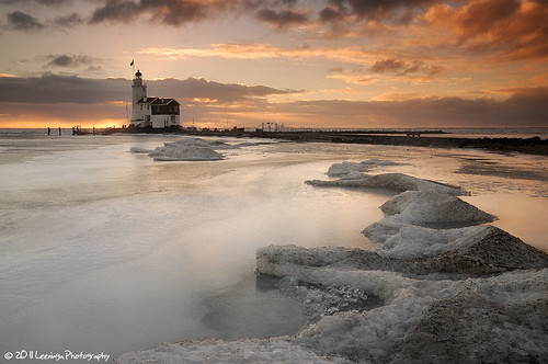 winter lighthouse snow ice netherlands sunrise landscape nikon sneeuw nederland nikkor vuurtoren marken landschap ijs d300 nld zonsopkomst mywinners provincienoordholland paardvanmarken