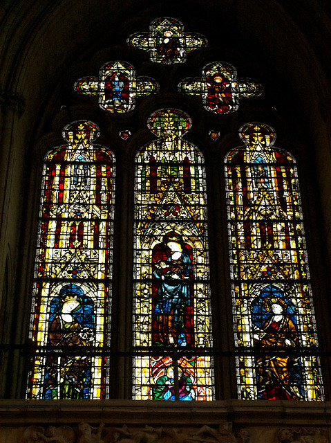 York minster stained glass