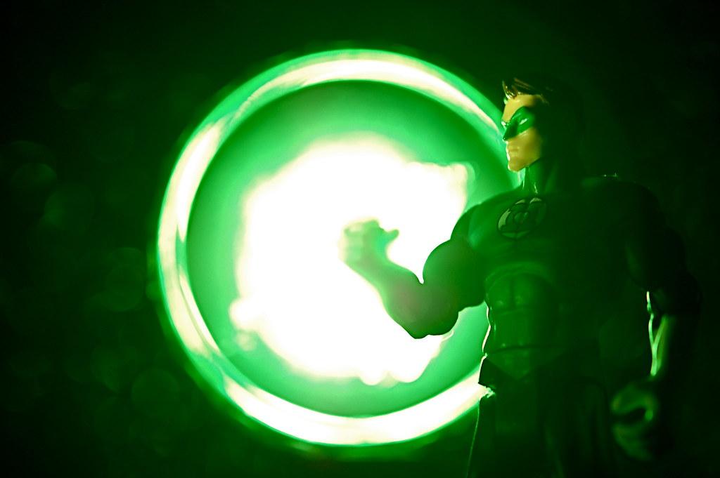 """... Green Lantern's light."""