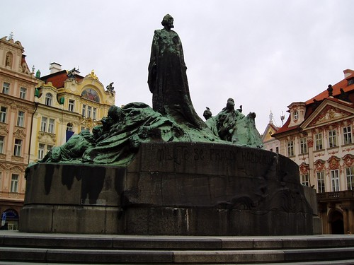 Monument to John Huss, Prague * Monument a Jan Hus, Praga