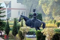 Maha Raja Ranjit Singh's Statue