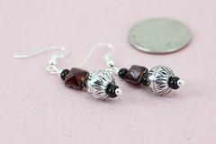 art, jewelry making, body jewelry, jewellery, gemstone, silver, earrings, pink, bead,