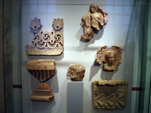 Roof Terracota from Cerveteri and Orviento, Italia Antiqua: Etruscans and Romans (Altes Museum, Berlin)
