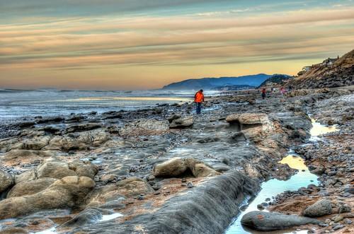 sea oregon coast sand rocks sigma 18200 hdr bellabeach photomatix nikond80