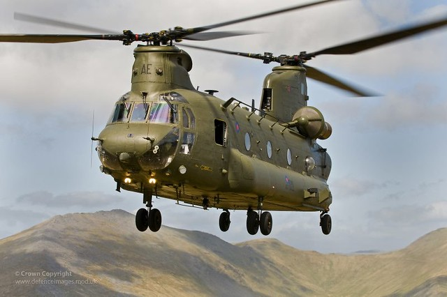 RAF Chinook Helicopter...