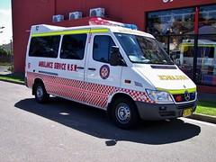 2005 Mercedes Benz Sprinter 316 CDi ambulance
