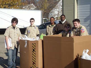 Scouting for Hunger 2010 (November 2010)