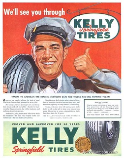 Kelley Springfield Tires - 19440819 Post