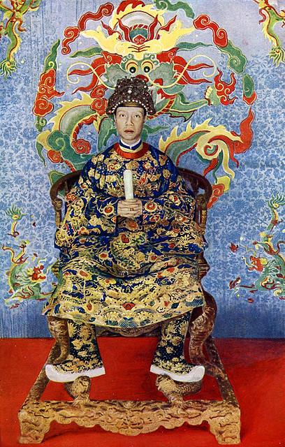 Vua Khải Định - Sa Majesté Khai Dinh, Empereur d'Annam - 1919
