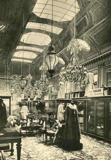 grands magasins du louvre paris ladies garment hall. Black Bedroom Furniture Sets. Home Design Ideas