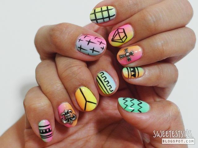 nailz treats bedok mall gellyfit nail art review