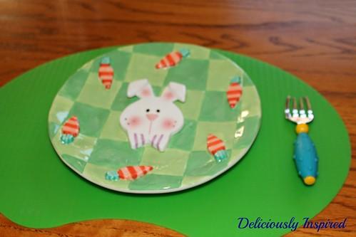 Easter 2014 - Caden plate