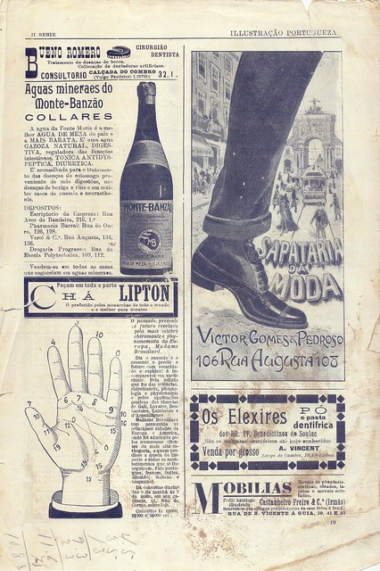 Ilustração Portugueza, Publicidade, 1910s - 5