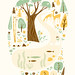 Woodland Print by Lab-Partners